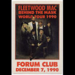 Fleetwood Mac 1990 Behind The Mask Backstage Pass