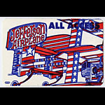 Jefferson Airplane All Access Backstage Pass