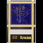 Rush 1994 Counterparts Tour All Areas Pass