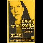 Alanis Morissette Phone Pole - 1999 Junkie Tour Poster