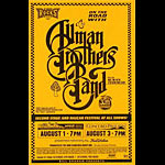 Allman Brothers Band Phone Pole Poster
