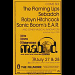 The Flaming Lips Phone Pole Poster