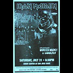Iron Maiden Phone Pole Poster