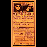 Van Morrison and Elvis Costello Phone Pole Poster