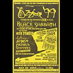 Ozzfest 1999 Phone Pole Poster