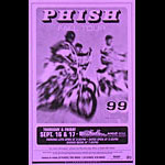 Phish - 1999 Fall Tour Phone Pole Poster