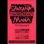 Santana Phone Pole Poster