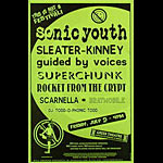 Sonic Youth Phone Pole Poster
