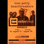 Tom Petty and the Heartbreakers Echo Tour Phone Pole Poster