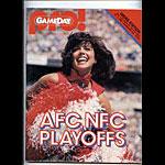 1982 AFC NFC Playoff Pro Football Program