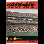 AFL Championship Program 1967 Pro Football Program