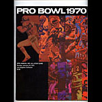 Pro Bowl 1970 Pro Football Program