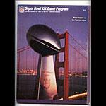 Super Bowl XIX Pro Football Program