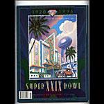 Super Bowl XXIX Pro Football Program
