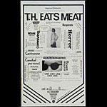 T.H Eats Meat Punk Flyer / Handbill