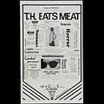 T.H Eats Meat Punk Flyer / Handbill