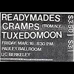 Tuxedomoon Punk Flyer / Handbill