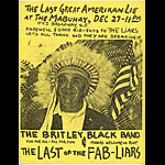 The Liars Punk Flyer / Handbill