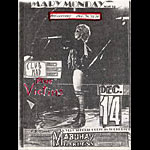 Mary Monday Punk Flyer / Handbill