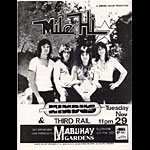 Mile Hi Punk Flyer / Handbill