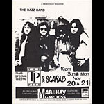 The Razz Band Punk Flyer / Handbill