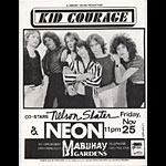 Kid Courage Punk Flyer / Handbill