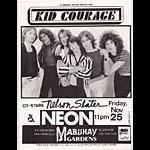 Kid Courage Punk Flyer / Handbill