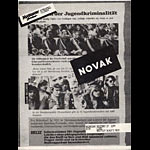 Novak Punk Flyer / Handbill