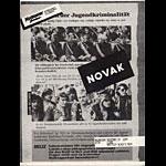 Novak Punk Flyer / Handbill