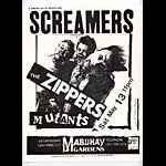 Screamers Punk Flyer / Handbill