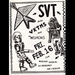 SVT Punk Flyer / Handbill