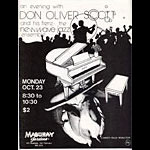 Don Oliver Scott Punk Flyer / Handbill