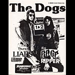 The Dogs Punk Flyer / Handbill