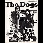 The Dogs Punk Flyer / Handbill