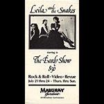 Leila and the Snakes Punk Flyer / Handbill