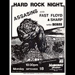 Assasins Punk Flyer / Handbill