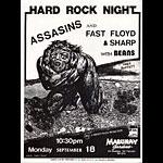 Assasins Punk Flyer / Handbill