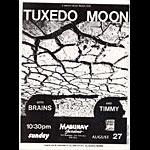 Tuxedo Moon Punk Flyer / Handbill