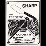 Roger/Reyes Sharp Punk Flyer / Handbill