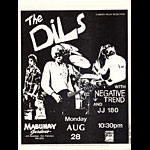 Roger/Reyes The Dils Punk Flyer / Handbill