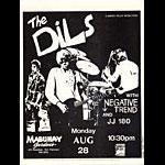 Roger/Reyes The Dils Punk Flyer / Handbill