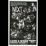 Next Punk Flyer / Handbill