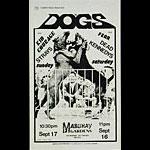 Roger/Reyes The Dogs Punk Flyer / Handbill