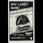 Roger/Reyes Roy Loney Band Punk Flyer / Handbill