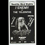 Roger/Reyes The Enemy Punk Flyer / Handbill