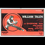William Talen Punk Flyer / Handbill