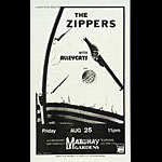 The Zippers Punk Flyer / Handbill