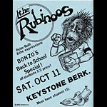 John Seabury AKA Hondoberry The Rubinoos Punk Flyer / Handbill
