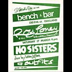 Roy Loney and the Phantom Movers Punk Flyer / Handbill