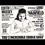 Edith Massey Desperate Living Punk Flyer / Handbill